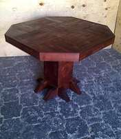 Bar table Farmhouse series 1000 Octangular Stained