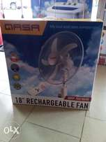 Rechargeable fan,we have it in diff product and sizes at avoidable prz