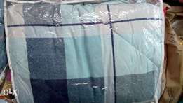 Duvet with bedsheet and pillow cases