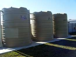 Storage water tanks for sale.