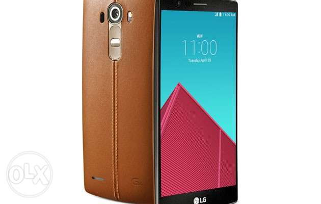 LG G4 Leather Back Cover - Brown Kasarani - image 2