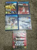 PlayStation games ps3 and ps4