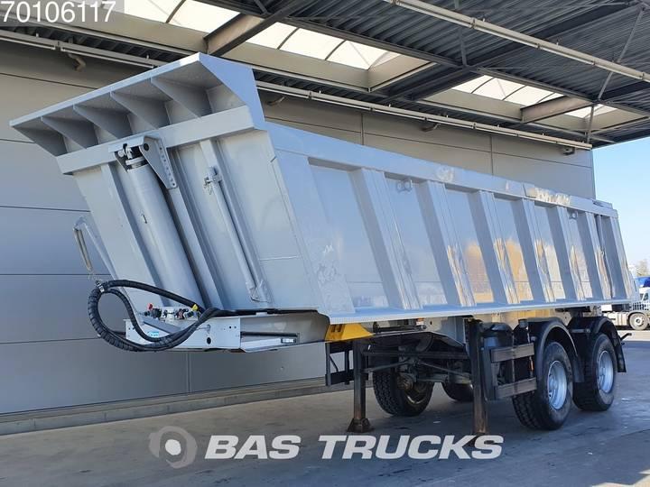 Meiller TR 2 2 axles 22m3 Stahl Kipper Liftachse - 2012