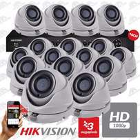 HikVision Turbo HD Brand New 8 Channel Dvr & 16 3MP Camera