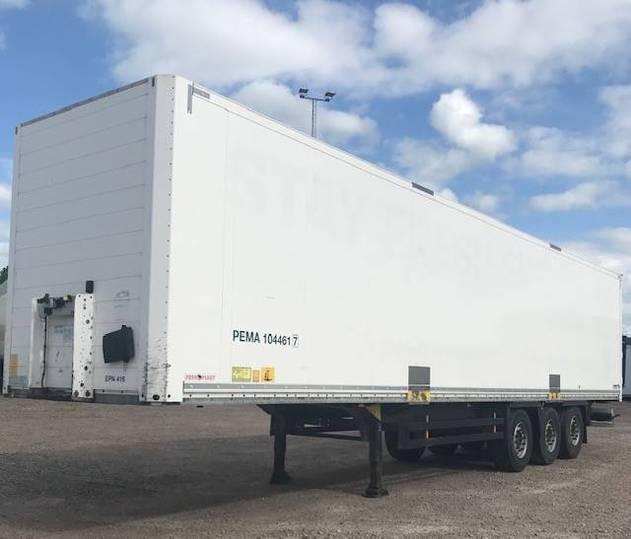 Schmitz Cargobull Boxtrailer , Dubbellast - 2015