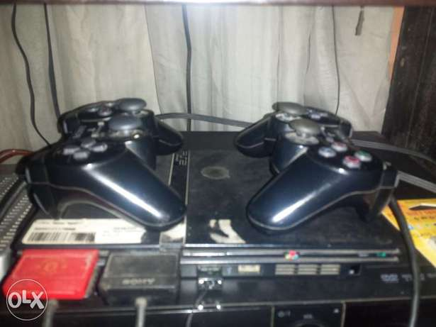 Complete black ps2 Ibadan South West - image 1