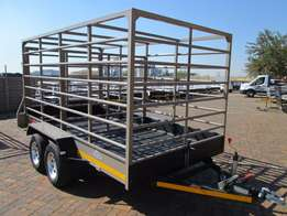 Brand new 2017 Cattle Trailers in stock. 3.5m x 1.8 3 Ton