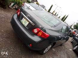 Nigeria used 2010 Toyota corolla for sale at affordable price