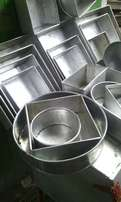 New baking tins