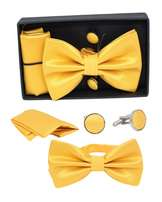 Men set bow ties