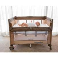 Snuggle Time cot for sale.