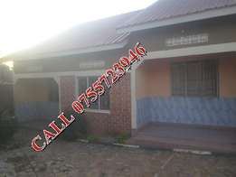 Fabulous 2 bedroom house in Bweyogerere at 350k
