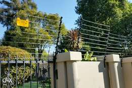 Electric Fence razor wire for farms parks homes go downstairs