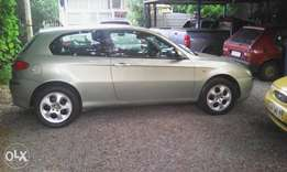 Alfa 147 2,0ts 2003 to swop.for sale need palio or fiesta 1st shape