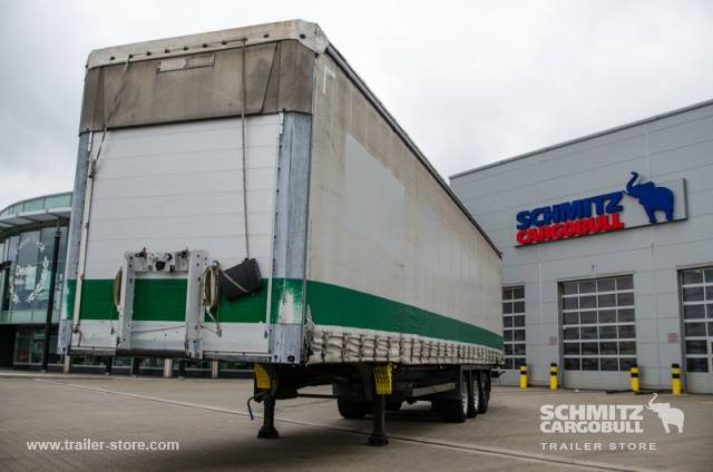 Schmitz Cargobull Semitrailer Curtainsider Mega - 2010