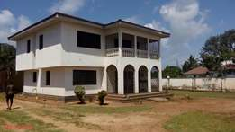 4 BEDROOM MANSION on half acre plot for rental in nyali