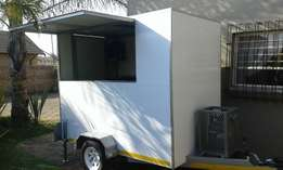 Food trailer for sale now to all