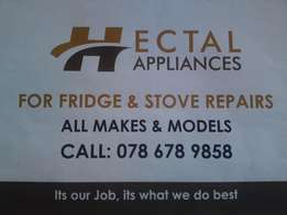 stove repair and servicing