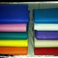 Brand new Egyptian cotton 6 by 6 bedsheets