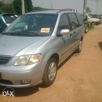 Mazda MPV 2000 manual toks