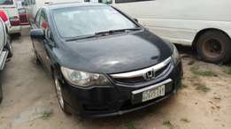 registered 2008 no issue honda civic, manual gear, bought new
