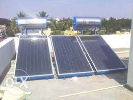 Solar water heating installations and SERVICES
