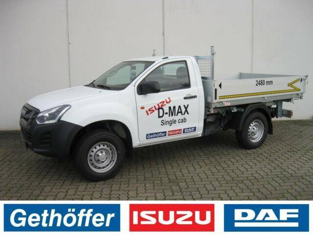 Isuzu D Max Single Cab Basic Euro 6 AHK Last 3,5 t