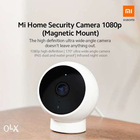New Mi Home Security Camera 1080p (Magnetic Mount)
