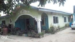 Hospital with adjoining House