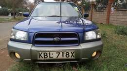 Subaru forester 2003 model 2000cc