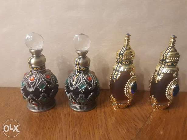 Old vintage mini bottles collectible.