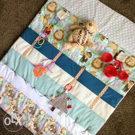 Baby play mat, nursing pillow, and lounger Aba - image 5