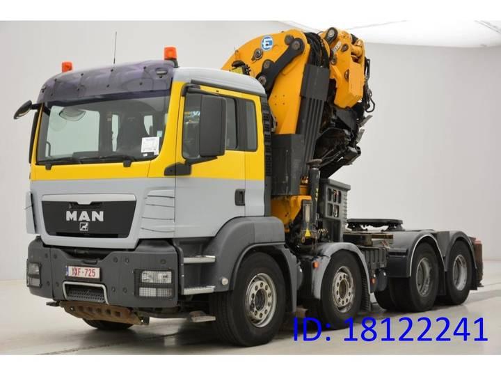 MAN TGS 41.480 - 8x4 - 2009