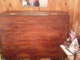 Bar with top cabinet for sale