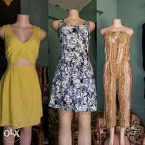 Dresses, tops, skirts, jump suits