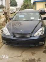 Foreign used navy blue Lexus ES300