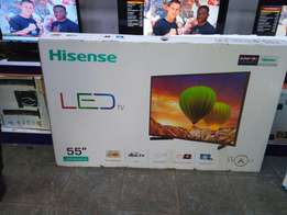 Smart Tv: Hisense 55 Inch Brand New at Shop