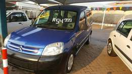 2005 Citroën berlingo 1.4i low 154000km bargain buy immaculate condit