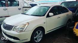 Pearl White Nissan Bluebird Sylphy (choice of 2)