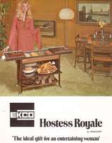 EKCO Hostess Royale Warming Tray For Sale