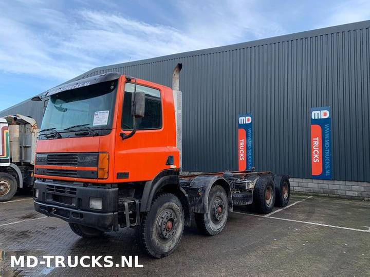 DAF CF 85 380 8x4 full steel euro 2 - 2000