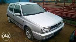 Very Clean Tokunbo 98 Volkswagen Golf 3