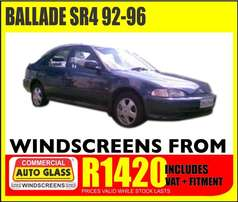 Ballade windscreen specials from