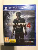 Brand new Uncharted 4 PS4 game