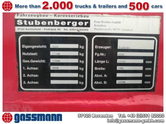 TONHOFER DL1 Plattform-Auflieger - 1998
