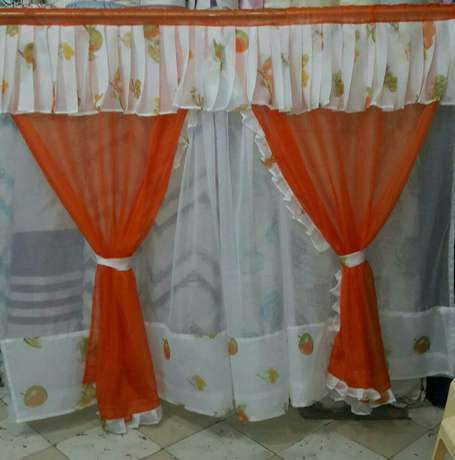 Ready made durable and elegant curtains with matching sheer. 900/- Bamburi - image 6