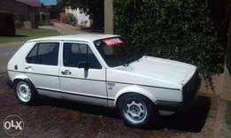 Mk1 golf for sale or to swop urgently