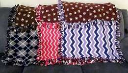 Doggie fleece blankets