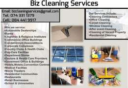 Carpet Cleaners Pretoria offer the following services to residential a