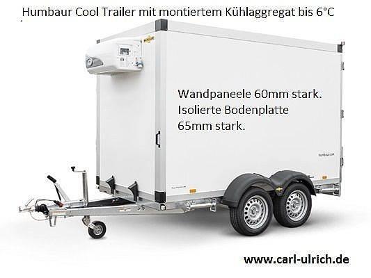 Humbaur Kühlanhänger HGK253218-21 PF60 Profi Cool Trailer